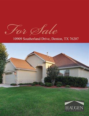 Haugen Properties -  10909 Southerland Drive, Denton, TX 76207