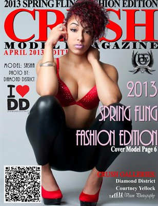 CRUSH Model eMagazine - 2013 SPRING FLING FASHION EDITION