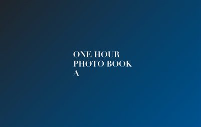 One Hour Photo Book A