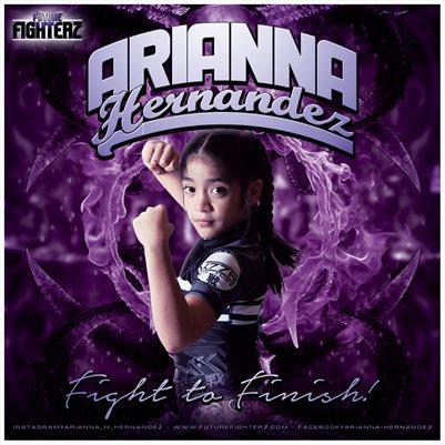 Arianna Hernandez Comp Card/Mini Poster 8x8