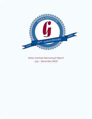 Semiannual Report: July - December 2010