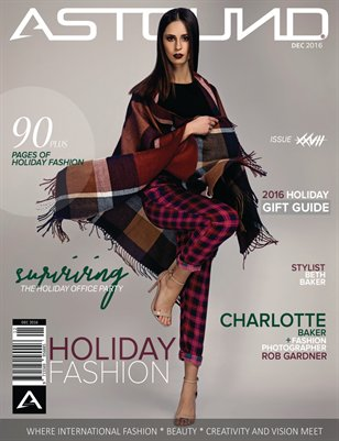 "DECEMBER 2016 ""HOLIDAY FASHION"" ISSUE XXVII"