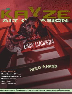 Kayze Magazine Issue 39 - LADY LUCIFERA- Alt-occasion