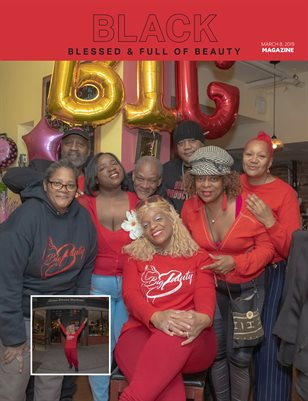Black Blessed & Full of Beauty Event Magazine
