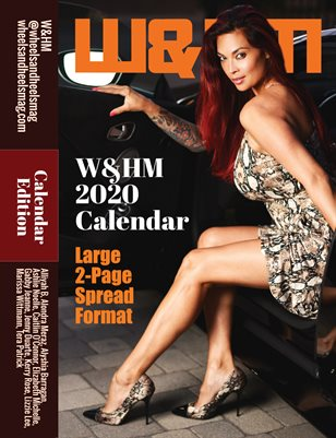 W&HM 2020 Calendar (2-page spread format)