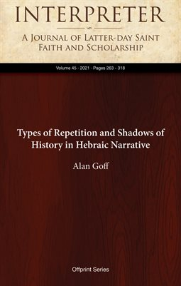 Types of Repetition and Shadows of History in Hebraic Narrative