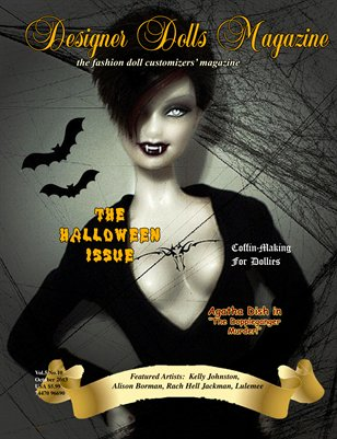Designer Dolls Magazine - Oct 2013