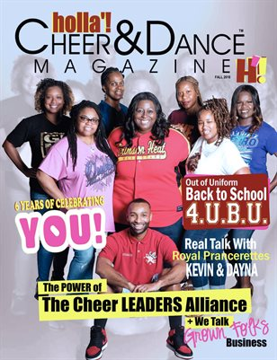 HOLLA'! Cheer and Dance Magazine - Fall 2018 Issue