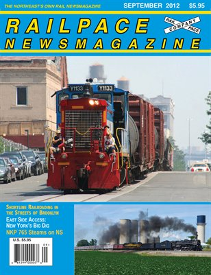 SEPTEMBER 2012 Railpace Newsmagazine