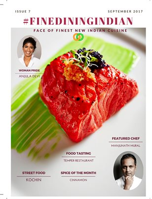Fine Dining Indian food magazine september 2017 Issue
