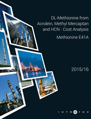DL-Methionine from Acrolein, Methyl Mercaptan and HCN - Cost Analysis - Methionine E41A