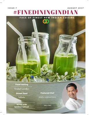 Fine dining Indian food magazine august 2017 issue 6