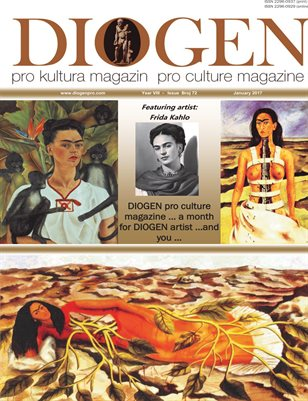 DIOGEN pro art magazine No 72...January 2017