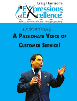 The Voice of Customer Service!