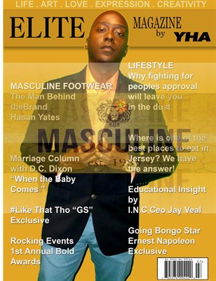 Elite Magazine by Y.H.A (Masculine Apparel Edition)