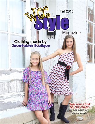 Wee Style Magazine Fall 2013 Issue