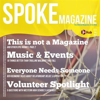 Spoke Magazine N.01 Fall 2012