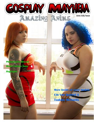 Cosplay Magazine Amazing Anime Issue 2