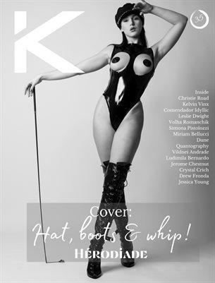 Kansha Magazine Volume 35 Featuring Hérodiade