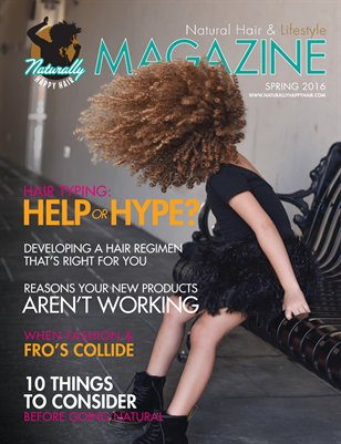 Naturally Happy Hair Magazine - Spring 2016