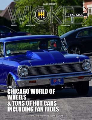 WICKED CAR MAG - APRIL ISSUE - CHEVY