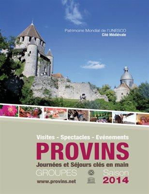 Provins - Brochure réceptive 2014