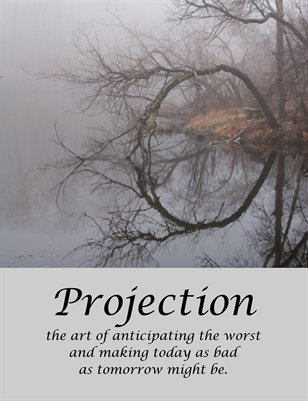 Projection card