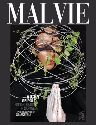 MALVIE Magazine The Artist Edition Vol 127 January 2021
