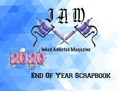 2020 End Of Year Scrapbook 1