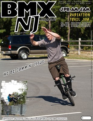 BMXNJ Magazine Issue 3 Winter 2010-2011