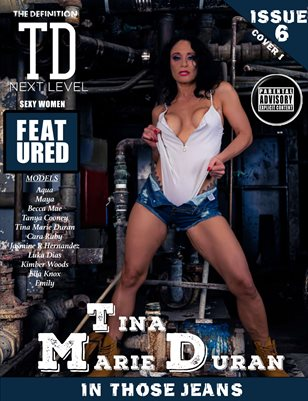 TDM Jeans: vol.6 Tina MArie Duran issue1cover 1