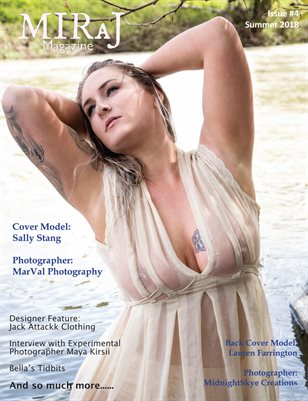 Miraj Magazine - Issue#4 - Summer 2018 - Sally cover