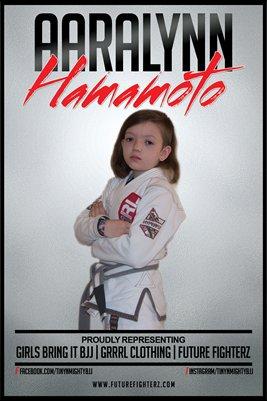 Aaralynn Hamamoto Representing Poster