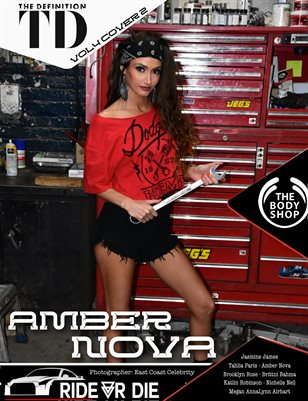 The Definition: Amber Nova In the Repair Shop Ride or Die vol 4 Cover 2