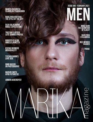 MARIKA MAGAZINE MEN ( ISSUE 586 - February )