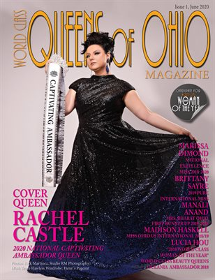 World Class Queens of Ohio Magazine, Issue 1 with Rachel Castle