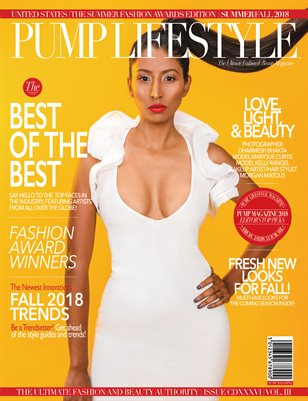 PUMP Magazine - The Summer Fashion Awards - October 2018
