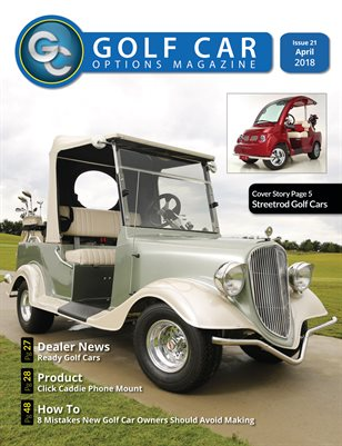 Golf Car Options Magazine - April 2018