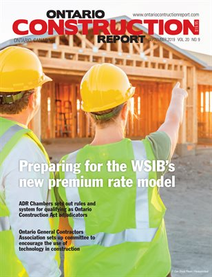 Ontario Construction Report (September 2019)