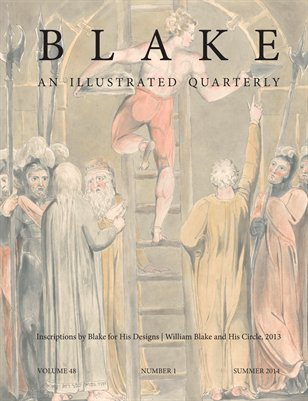 Blake/An Illustrated Quarterly vol. 48, no. 1 (summer 2014)