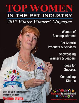 Top Women in the Pet Industry 2015 Winter Winners' Issue