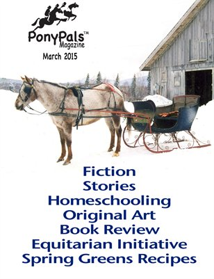 March 2015 Pony Pals Magazine -- Vol. 4 #10