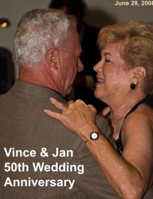 Vince and Jan's 50th Wedding Anniversary