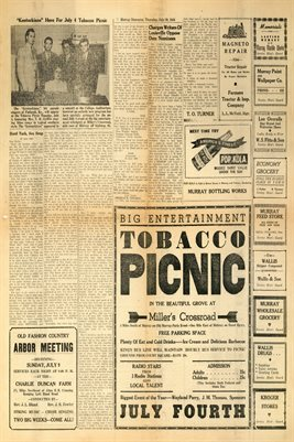 (PAGES 3-4) JUNE 29, 1944 MURRAY DEMOCRAT NEWSPAPER