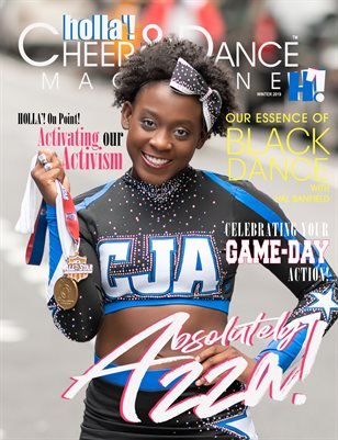 HOLLA'! Cheer and Dance Magazine - Winter 2019 Issue