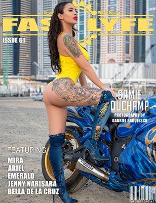 FASS LYFE MAGAZINE ISSUE 61 FT. SAMIE