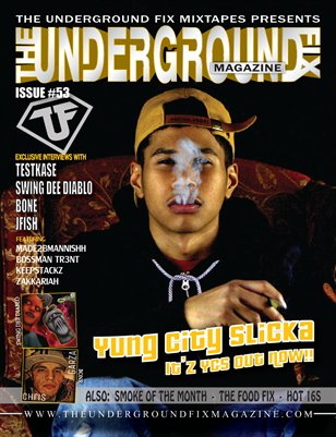 The Underground Fix Magazine Issue #53