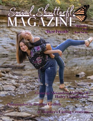 Issue No. 60 - Best Friends - Social Shutterfli Magazine