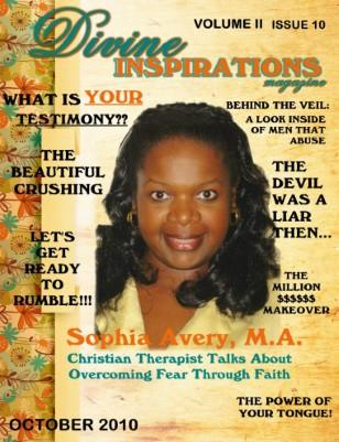 October 2010 Divine Inspirations