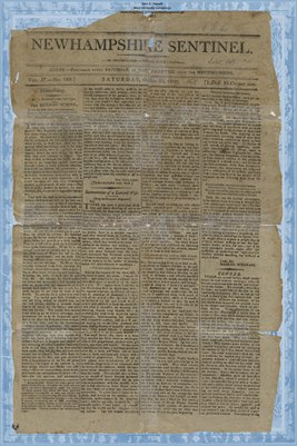 (PAGE 1-2) New Hampshire Sentinel, Oct. 30, 1802